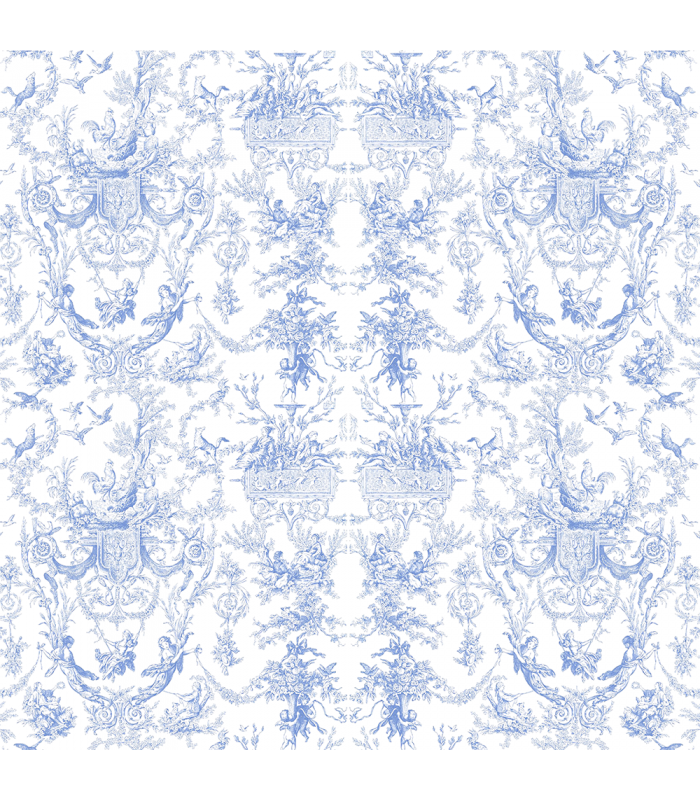Rice paper for furniture decoration toile de jouy in for Furniture decoration paper