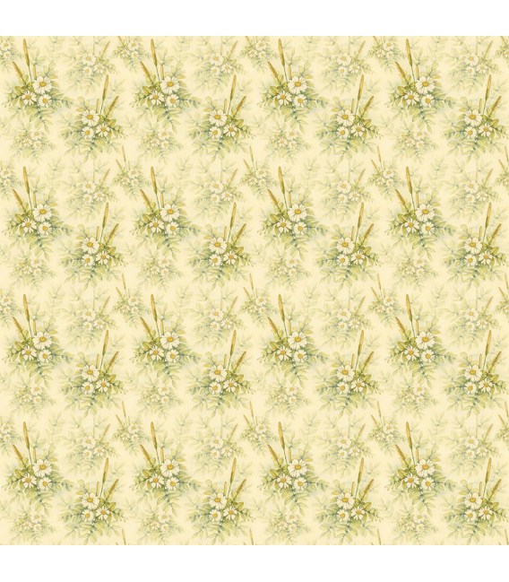 Rice paper for furniture decoration: Daisies
