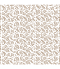 Rice paper for furniture decoration: Leaves stylized in beige color