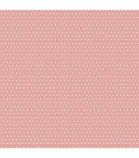 Carta di riso per il decoro del mobile: Pois colorati rosso