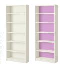Rice paper for furniture decoration: Coloured polka-dots violet