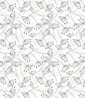 Wallpaper on japanese paper: LINEART