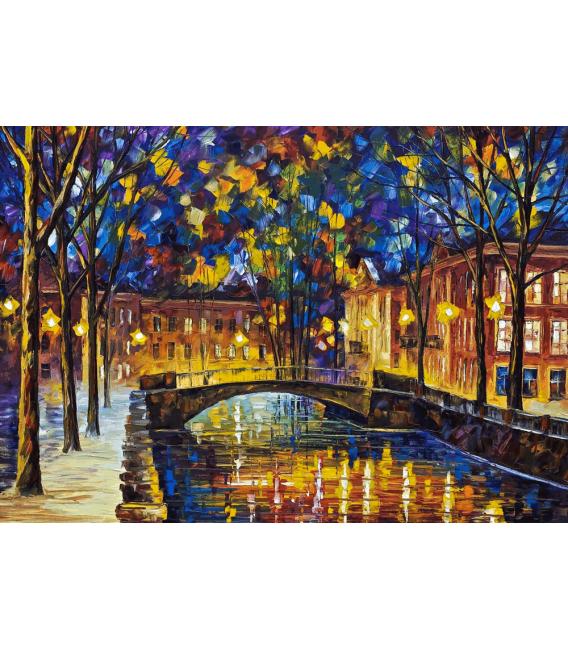 Printing on canvas: Leonid Afremov - Autumn