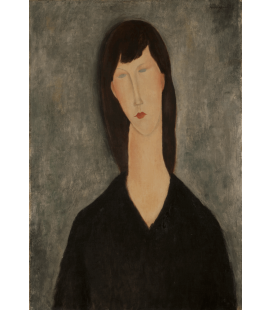 Amedeo Modigliani - Woman Bust. Printing on canvas