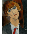 Printing on canvas: Amedeo Modigliani - Madame Kisling