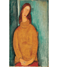 Amedeo Modigliani - Portrait of Jeanne Hebuterne. Printing on canvas