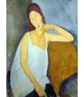 Amedeo Modigliani - Ritratto 3 di Jeanne Hébuterne. Stampa su tela
