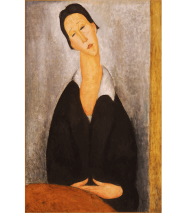 Amedeo Modigliani - Portrait of a Polish woman. Printing on canvas