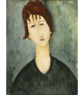 Amedeo Modigliani - Portrait Female. Printing on canvas