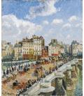 Camille Pissarro - Nuovo Bridge Tea. Stampa su tela