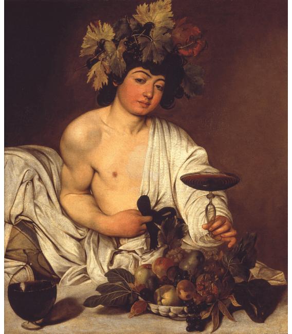 Stampa su tela: Caravaggio - Bacco adolescente