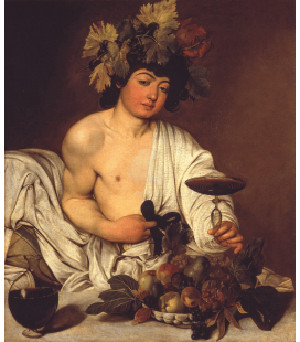 Caravaggio - Young Bacchus. Printing on canvas