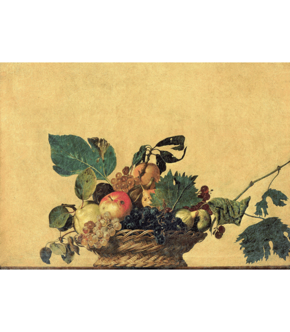 Printing on canvas: Caravaggio - Basket of Fruit