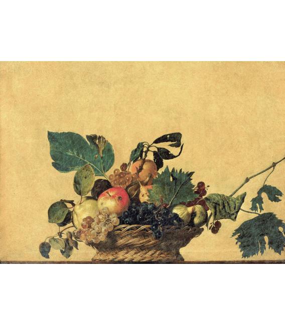 Stampa su tela: Caravaggio - Canestra di Frutta