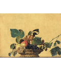 Caravaggio - Basket of Fruit. Printing on canvas