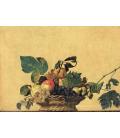 Caravaggio - Canestra di Frutta. Stampa su tela