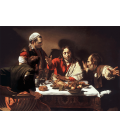 Caravaggio - Supper at Emmaus. Printing on canvas