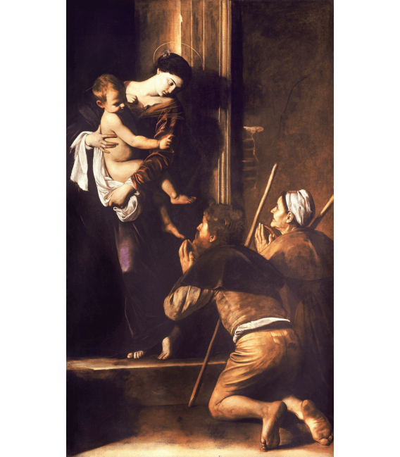 Stampa su tela: Caravaggio - Madonna di Loreto