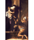 Caravaggio - Madonna of Loreto. Printing on canvas