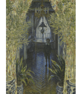 Printing on canvas: Claude Monet - A Corner of the Apartment