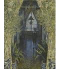 Claude Monet - Angolo di casa. Stampa su tela