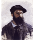 Printing on canvas: Claude Monet - Self-portrait