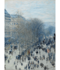 Printing on canvas: Claude Monet - Boulevard des Capucines
