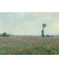 Claude Monet - Field of Poppies. Printing on canvas