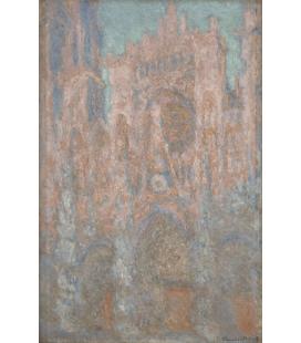 Stampa su tela: Claude Monet - Cattedrale di Rouen