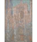 Claude Monet - Cattedrale di Rouen. Stampa su tela