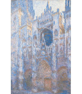 Printing on canvas: Claude Monet - Rouen Cathedral