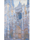 Claude Monet - Rouen Cathedral, West Front. Printing on canvas