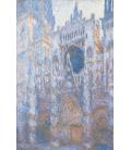 Claude Monet - Cattedrale di Rouen, facciata ovest. Stampa su tela