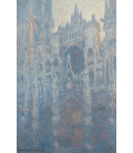 Claude Monet - Rouen Cathedral, Portal in the morning light. Printing on canvas