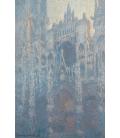 Claude Monet - Cattedrale di Rouen, Portale nella luce del mattino. Stampa su tela