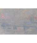 Claude Monet - Charing Cross Bridge, London, 3. Printing on canvas