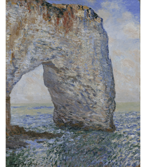 Printing on canvas: Claude Monet - Etretat