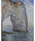 Claude Monet - Etretat, Manneporte. Printing on canvas