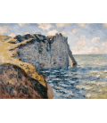 Claude Monet - Etretat, Aval Scoglio. Printing on canvas