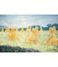 Printing on canvas: Claude Monet - The Young Ladies of Giverny