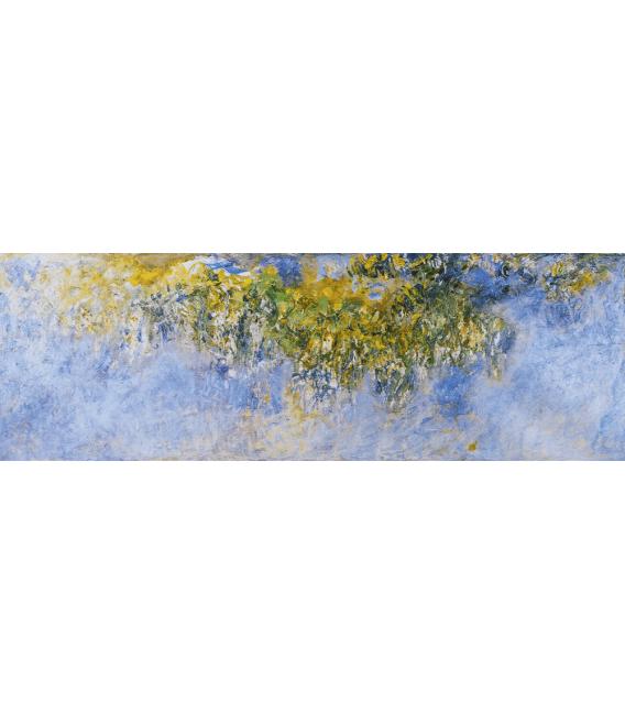 Stampa su tela: Claude Monet - Glicini