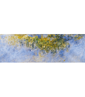 Printing on canvas: Claude Monet - Wisteria
