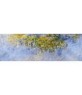 Claude Monet - Glicini. Stampa su tela