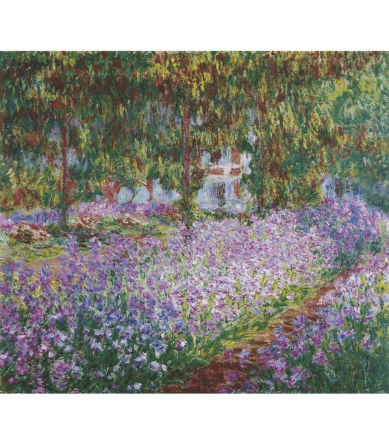 Printing on canvas: Claude Monet - Monet's Garden