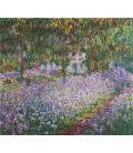Claude Monet - Monet's Garden. Printing on canvas