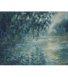 Claude Monet - Morning on the Seine. Printing on canvas