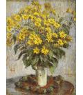 Claude Monet - Nastruzzi. Stampa su tela