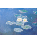 Claude Monet - Waterlilies (effect of the evening). Printing on canvas