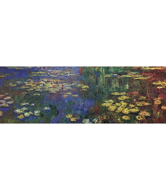 Stampa su tela: Claude Monet - Nymphéas 1