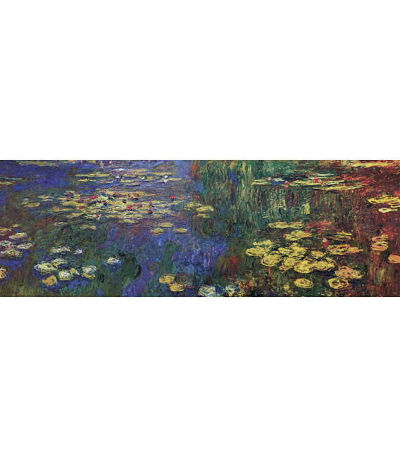 Printing on canvas: Claude Monet - Waterlilies 1